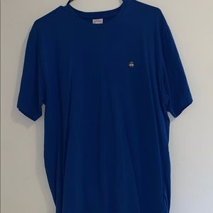 Brooks Brothers blue logo t shirt